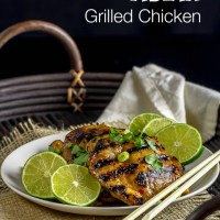Asian Flavors Grilled Chicken