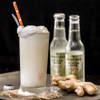 Ginger Beer Bourbon Ice Cream Float