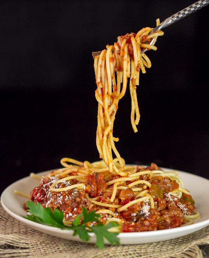 Spaghetti with Meat Sauce - I'm Bored, Let's Go...
