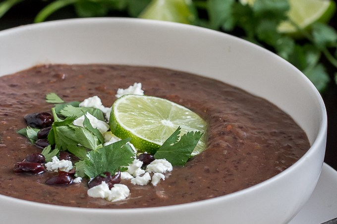 The best black bean soup recipe!