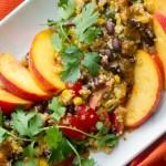 Quinoa-Chipotle-Peach-Salad