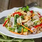 Thai-Pork-Quinoa Salad