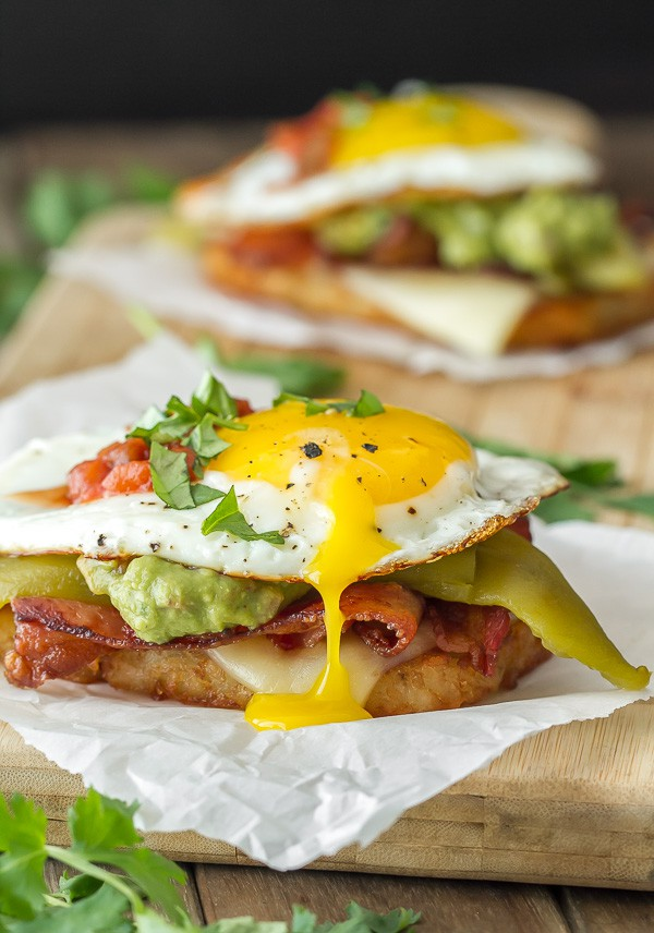 Southwestern Breakfast Stack - I'm Bored, Let's Go...
