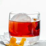The Negroni Cocktail is made with gin, sweet vermouth and Campari. A classic!