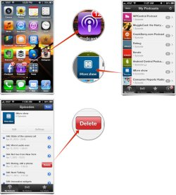 Alluring Podcasts App Iphone And How To Delete Podcast Episodes That Podcast Episode Will Be Automatically Deleted From Your Iphone Or Can Still Stream M Or M Any Time Like