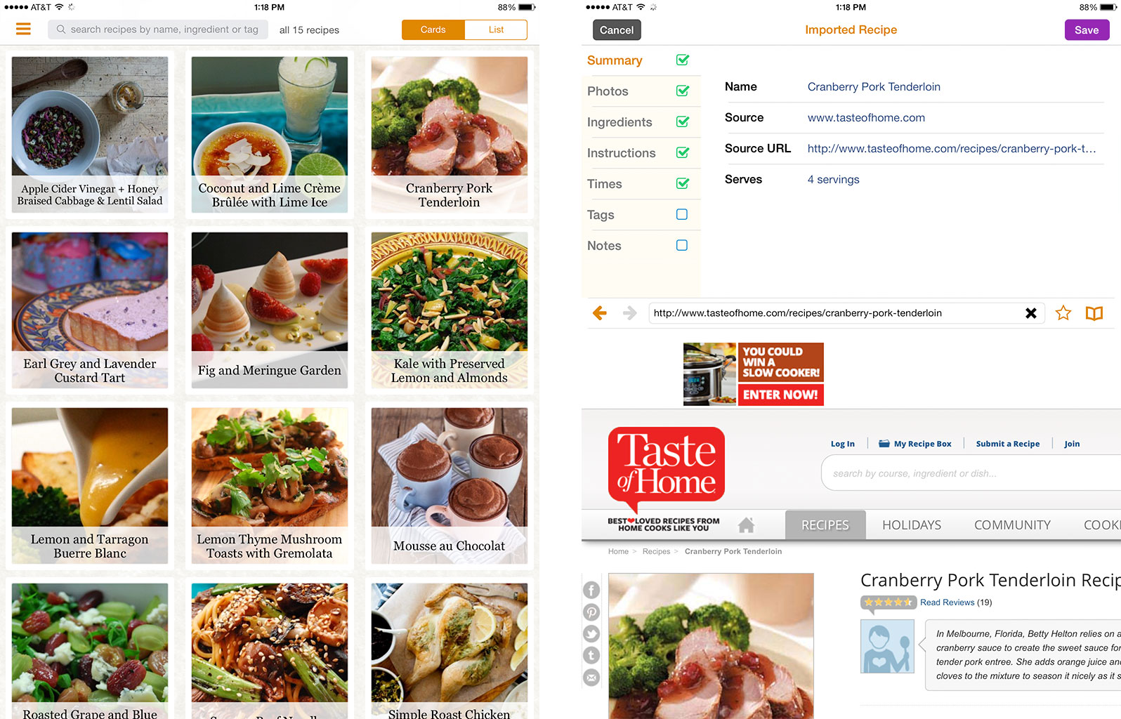 Best recipe and cooking apps for iPad: Zest, Evernote Food, Food52, and more! | iMore