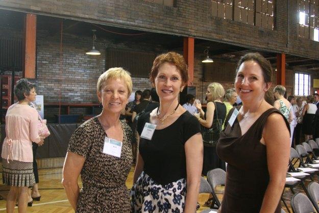 Beth Thomas, Dorothea Genetos, and Rebecca Stratton