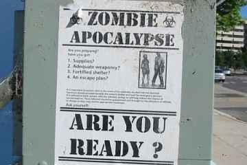 Zombies. It's more common than you think