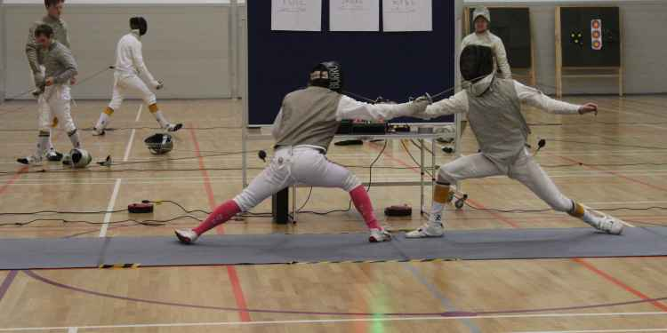 The UoN Fencers won all three disciplines against NTU in a strong showing.