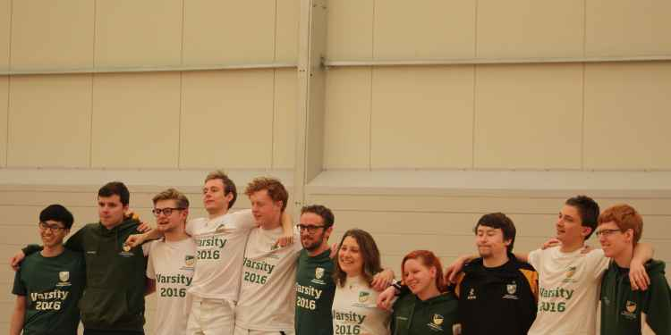The victorious UoN Fencing Team.