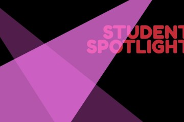 Arts Student Spotlight Header