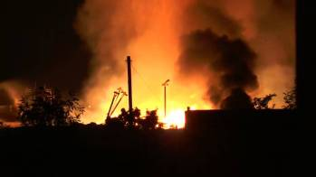 A new sustainablity venture between UoN and GSK caught national attention when it burned down in September 2014