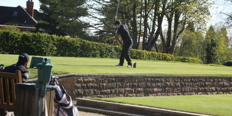 Harry Butterworth kicks off the Super Wednesday with tee-off at the Golf.