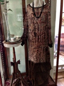 beaded dress from early 1900s