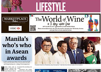 Manila's who's who in Asean Awards » Imperial Homes | Real ...