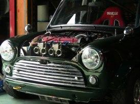 ミニクーパー TWINCAM ENGINE