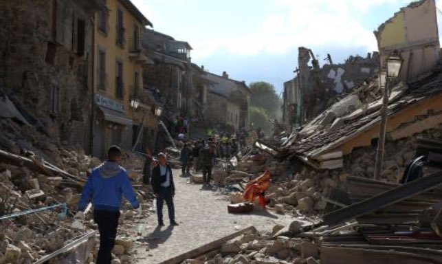The earthquake in Italy's devastation put into perspective with these before and after pictures