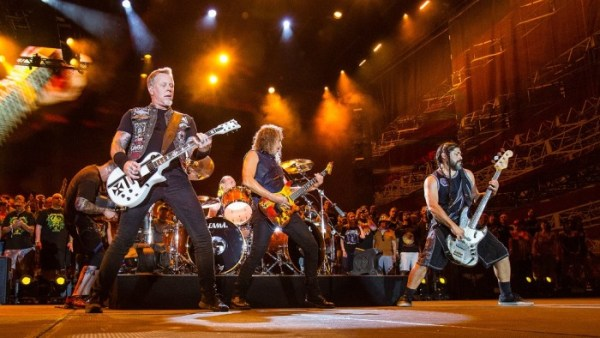 Austin, TX - June 6, 2015 - Circuit of The Americas: Metallica performing at X Games Austin 2015 (Photo by Tomas Zuccareno / ESPN Images)