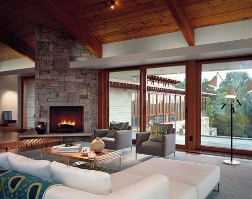 Medium Of Living Room Interior Designs Ideas