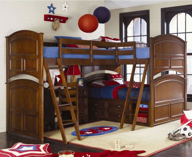 Large Of Triple Bunk Bed Plans