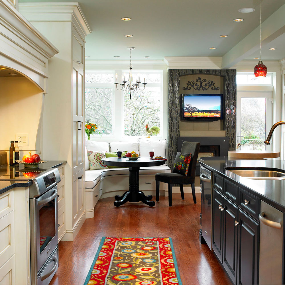 breakfast nook design ideas for awesome mornings kitchen nook lighting Lights Breakfast Nook Design Ideas For Awesome Mornings4