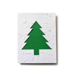 Tree Shape Seed Paper Card #PC2