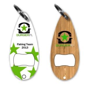 Lure Bottle Opener Keychain #F-BOKC