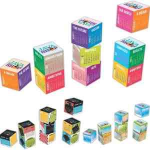 Magnetic Cube Calendar # 5803