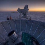 BICEP2 Telescope in Antarctica - Copyright (Steffen Richter / Harvard)