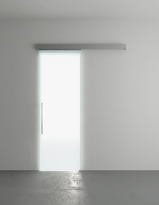 Produzione e vendita online porte scorrevoli in vetro per interni