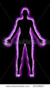 Purple Aura people are highly psychic, attuned to the emotions and moods of others and very sensitive. People who have a predominant amount of purple in their Aura are seen as mysterious and secretive.