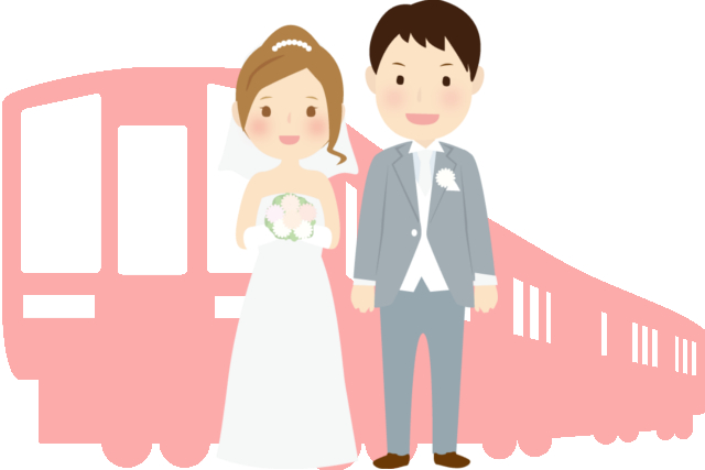 train_wedding
