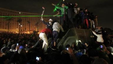Anti-Mursi protesters