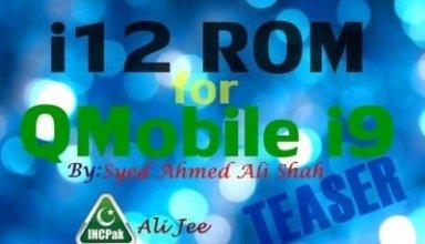 i12 ROM for QMobile Noir i9