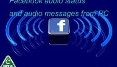 Audio status