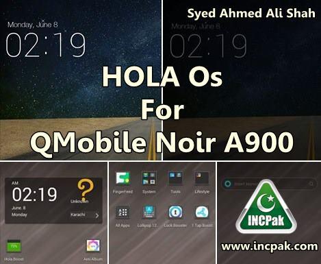 HOLA Os for QMobile Noir A900