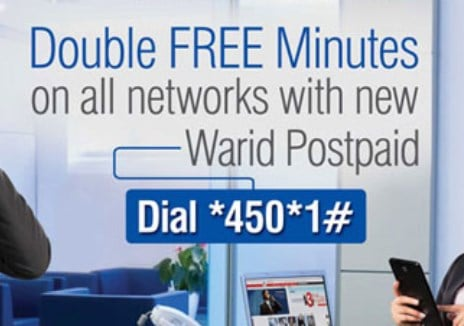 Warid Double Bundle Offer