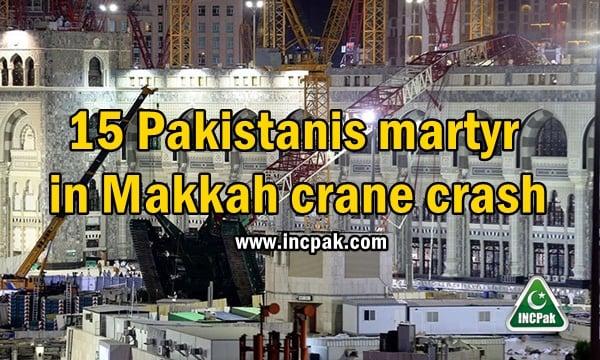 Makkah crane crash