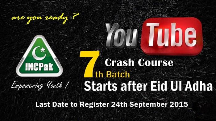 YouTube Crash Course