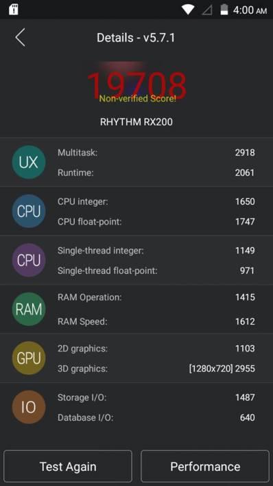 Rivo Rx200 benchmark