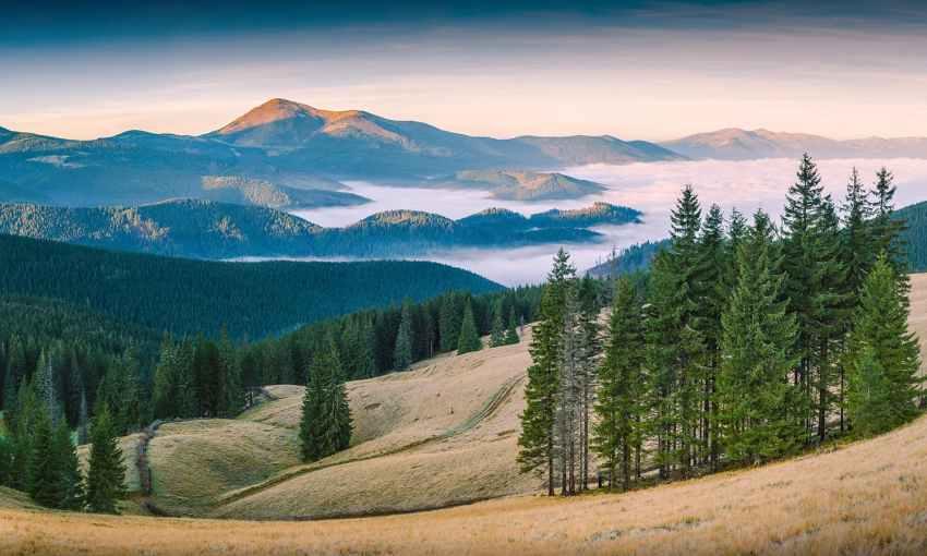 Carpathian Biosphere Reserve, Zakarpattia Oblast, Ukraine. — Photo by Vian and retouched by Iifar