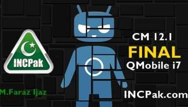 CM 12.1 Final for QMobile Noir i7
