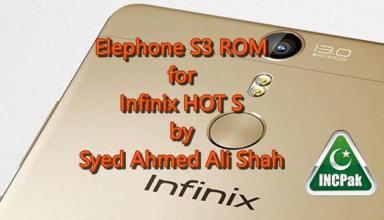 elephone rom infinix hot s