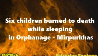 Children Burned to death