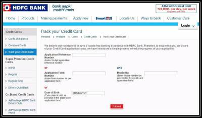 HDFC Credit Card Status: How to Track HDFC Card Application Status Online