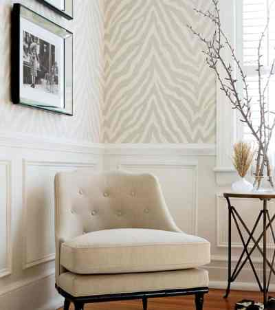 Wallpaper Trends 2019 - A Meeting of Refinement and Sobriety - Interior Decor Trends