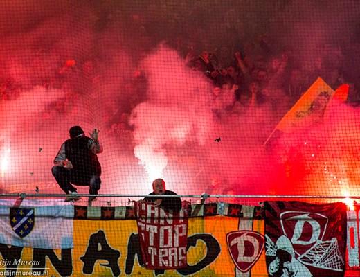 ...Waren de Dynamo Dresden fans dat ook
