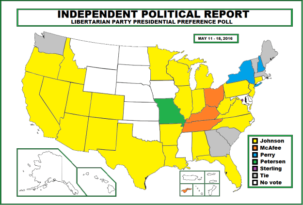 Second Poll Map