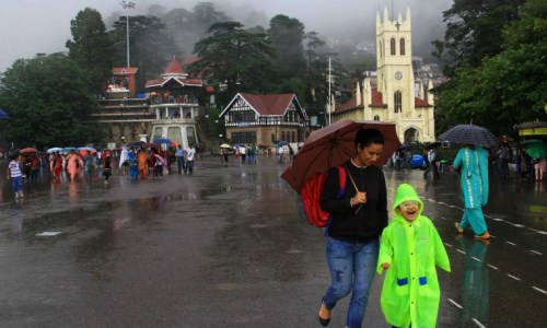 shimla-ridge-rain