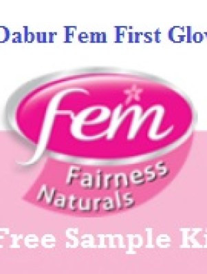Dabur Fem First Glow Free Sample Kit